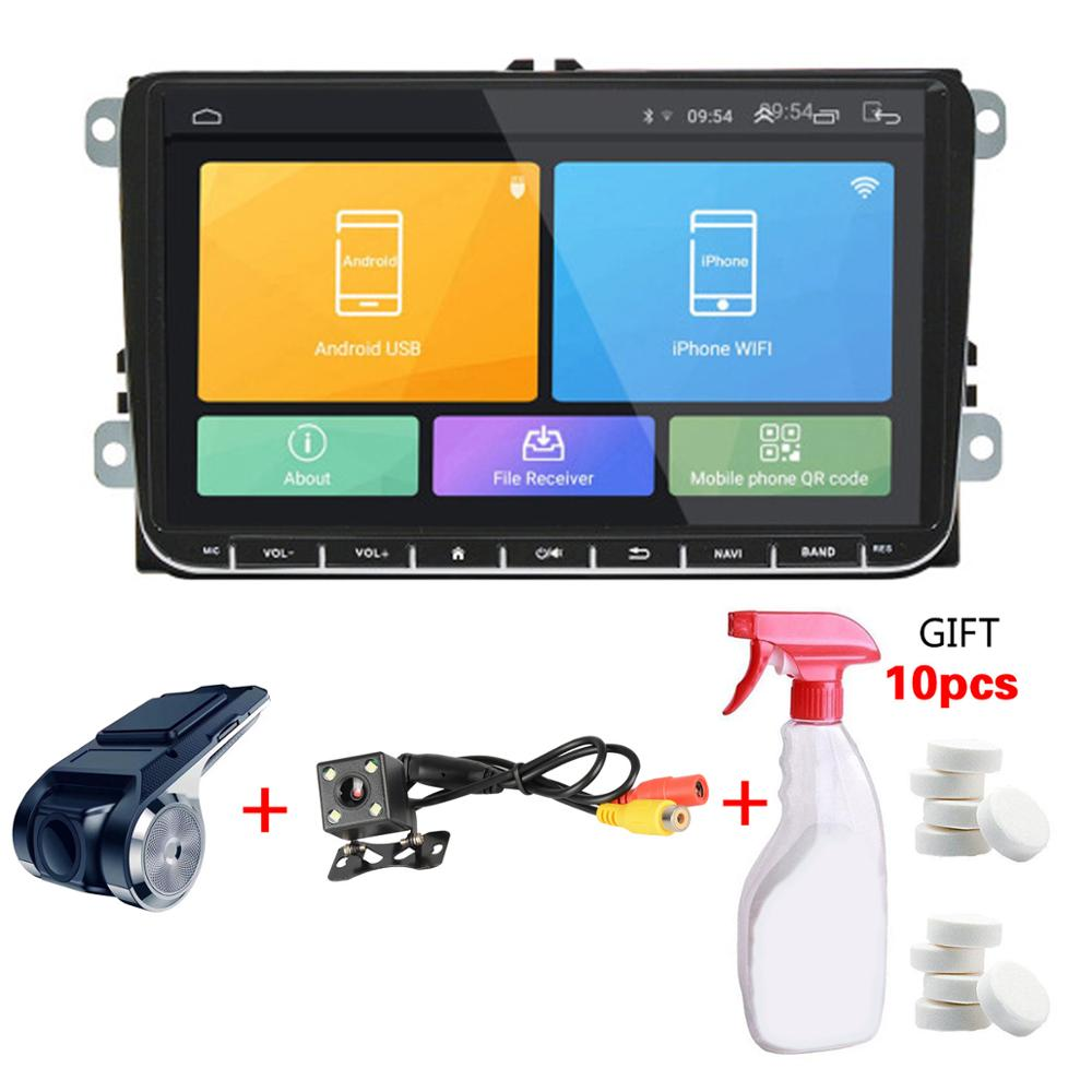 2 DIN Android 8.1 Car Radio Car GPS Navigation 9