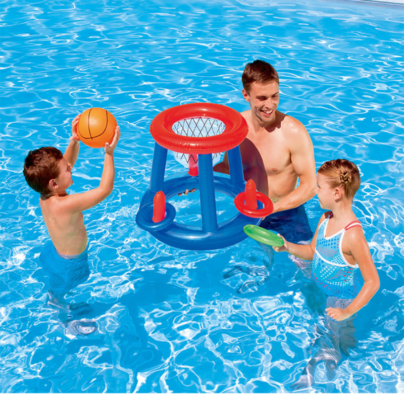 US $13.33 29% OFF Dropshipping Water Games in Swimming Pool Inflatable  Water Toys for Children Outdoor Summer Water Polo Equipments for Kids-in  Water ...
