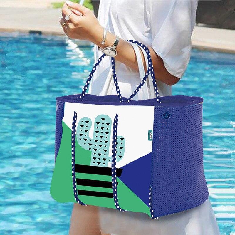Sac pour femmes 2019 nouveau matériel de plongée de mode sac de plage sac à bandoulière paquet décontracté sac de yoga