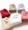 YP1416646 Retail 2015 Nueva Moda de Invierno Pantalones de La Muchacha Sólido Polar Gusano Chica Pantalones de Pana Ropa Muchacha de Los Niños Ropa