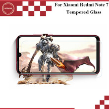 ocolor For Xiaomi Redmi Note 7 Tempered Glass Film Ultra-Thin Front Glass Screen Protector for Xiaomi Redmi Note 7 Mobile Phone(China)