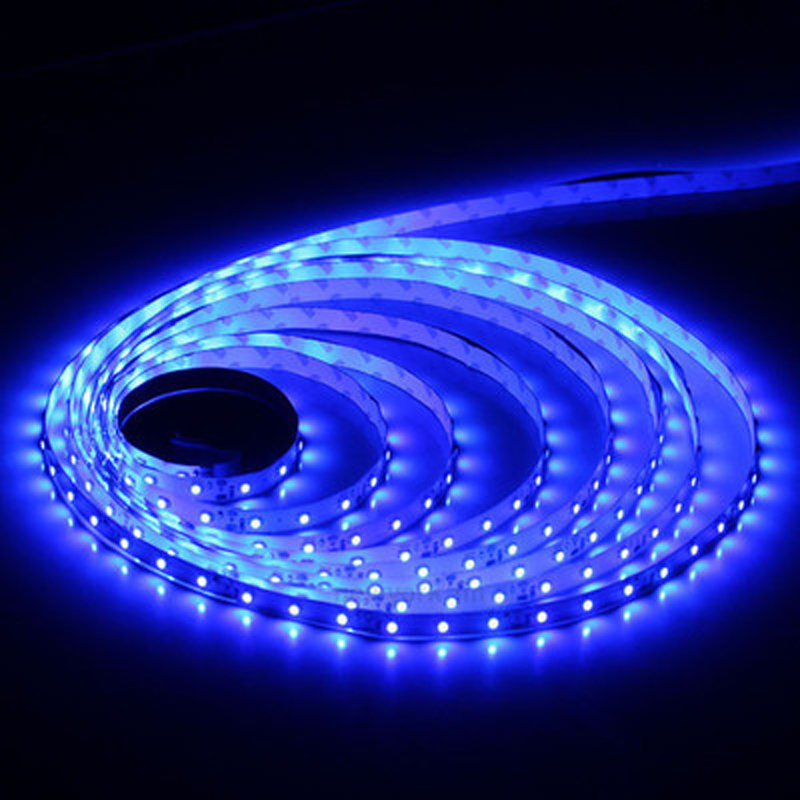5m 3528 60 Led No Waterproof Strip Light Dc12v 10w Red Blue Yellow Green Warm White
