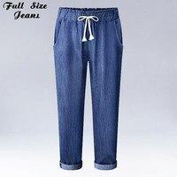 Kinsaga Europe Early Autumn Plus Size Loose Harem Jeans 4Xl 5Xl 6Xl Boyfriend All Match Oversized