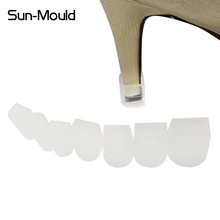 7 Different Size High Stiletto Heel Protector Stop Shoes Locked Antislip Noiseless Pins Replacement  8pairs/Lot Free Dropping