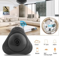 960P VR WI FI 360 Degree Panoramic Camera Motion Detection Fisheye'S Smart Wireless IP Camera For Home Monitor EU Plug