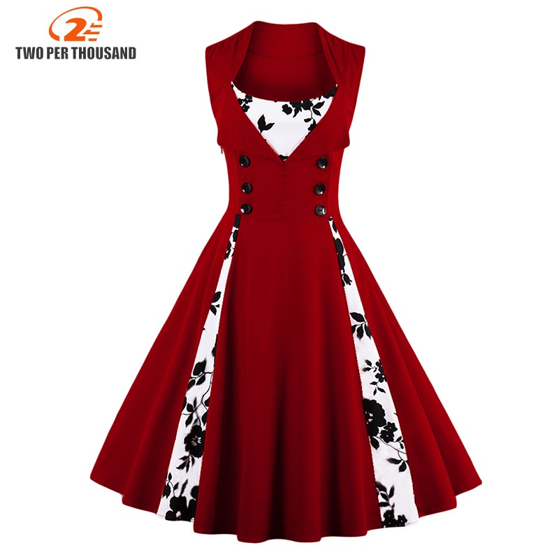4xl 5xl Plus Size Women Robe Pin Up Dress Retro Vintage 1950s 60s Rockabilly Swing Summer Female Dresses Elegant Tunic Vestidos Vestidos Plus Dresses Retrofemale Dress Aliexpress