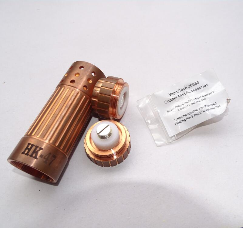 pure copper 26650 mechanical mod HK47 mod