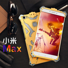 SimonThor Ironman Body All Metal Aluminum Hard Rugged phone Case for Xiaomi Max/MI MAX  Armor back Cover Case Shell Capa