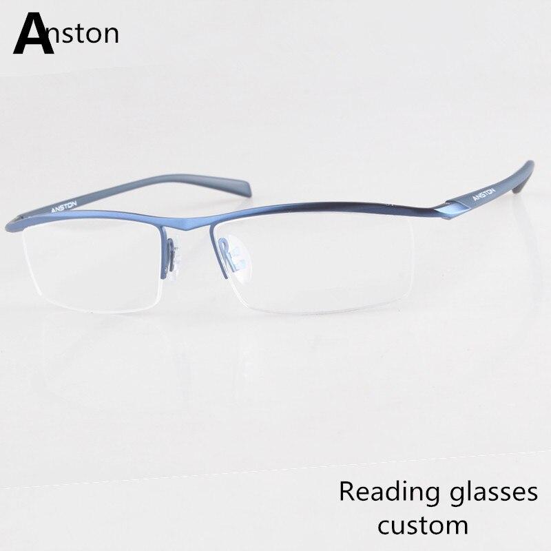 0b617d2346 Antireflective coating custom Reading Glasses man +4.5 + 2.5 +1.5 +1.25 OD  The OS different prescription Reading Glasses women