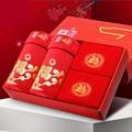 Benming big red men's underwear short Modal U convex waist large size   N9312