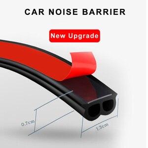Image 3 - Araba Styling kapı contası gezileri gövde ses yalıtımı su geçirmez sızdırmazlık araba Styling etiketler evrensel otomobil İç aksesuar