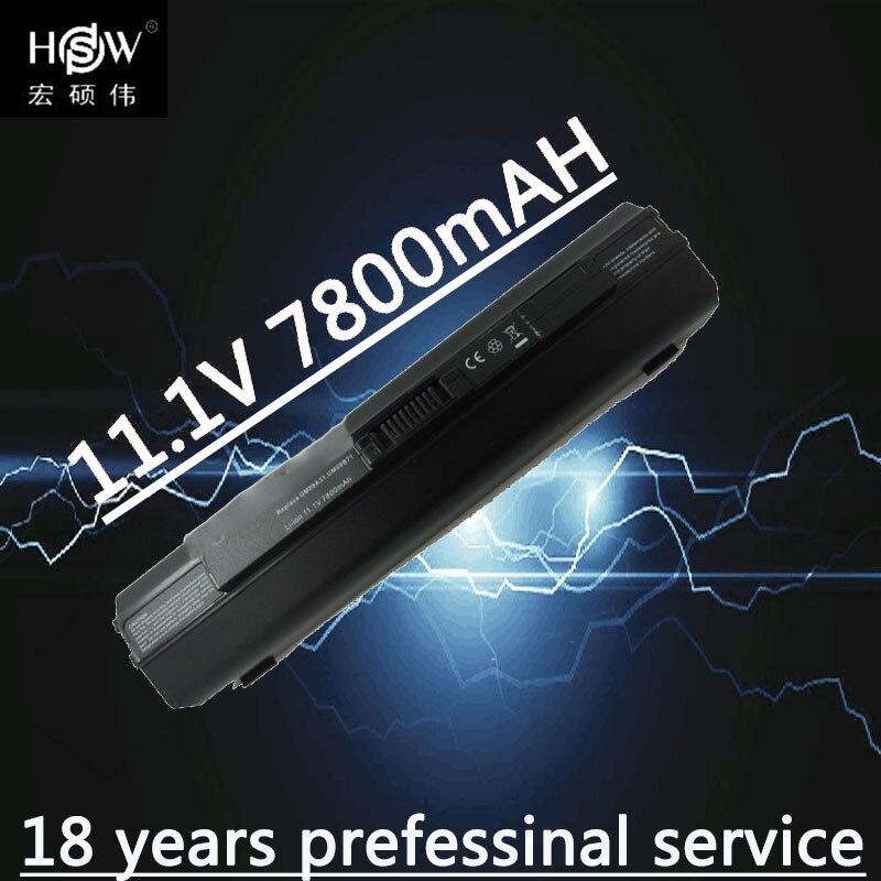 HSW ноутбука Батарея для acer Aspire one 531 531 h 751 ZA3 ZA8 ZG8 AO751h  UM09A73