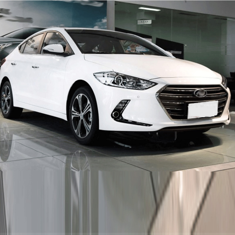 Car Accessories Exterior Decoration ABS Chrome Front Fog Light Lamp Trim For Hyundai Elantra 2018 Car styling in Interior Mouldings from Automobiles Motorcycles