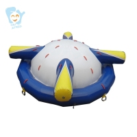 Giant Inflatable Water Floating Sea Park Games Fun Summer Toys Inflatable Saturn With Beam Summer Pool Beach Fun