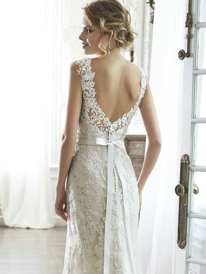 simple white silk mermaid wedding dress open back wedding dresses Simple White Silk Mermaid Wedding Dress Open Back Original