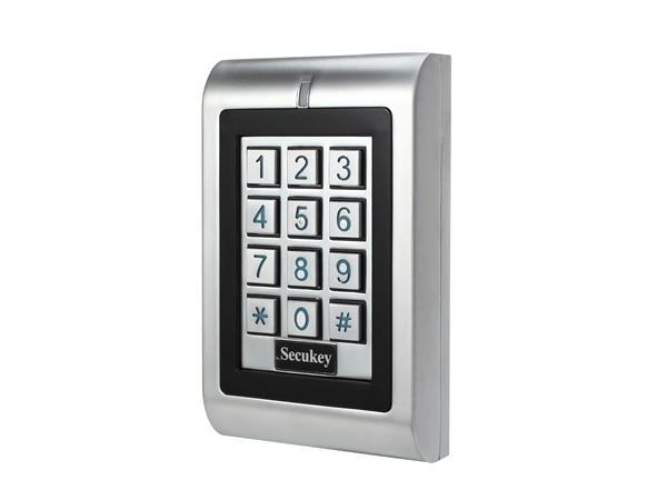 K1 Free Shipping Easy Keypad Secukey Simple Program 12 Keys Non Waterproof Metal Case Backlit Keypad 125KHz EM Card