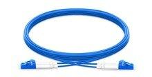 1 m 2 m 3 m 5 m LC UPC do LC UPC Duplex tryb pojedynczy PVC opancerzony (OFNR) kabel krosowy