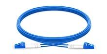 1 m 2 m 3 m 5 m LC UPC naar LC UPC Duplex Single Mode Gepantserde PVC (OFNR) patch Kabel