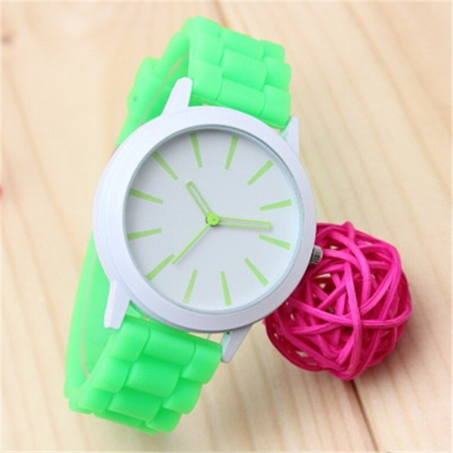 Mance 14 Color Hot Sale watch women sport brand fashion Silicone Rubber Jelly Gel Quartz Analog relogio feminino clock women