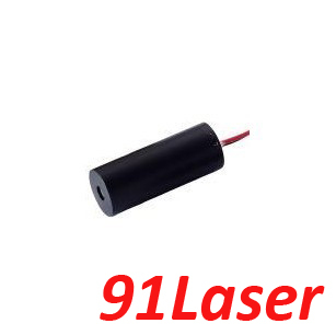 ФОТО mini 532nm 5mW green laser module (Dot) DC3-5V  8x30mm, lifetime>5000hours from 91Laser