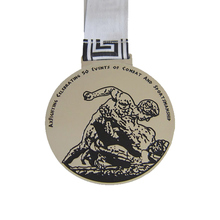 Factory direct electroplating silver medal new die casting 3D