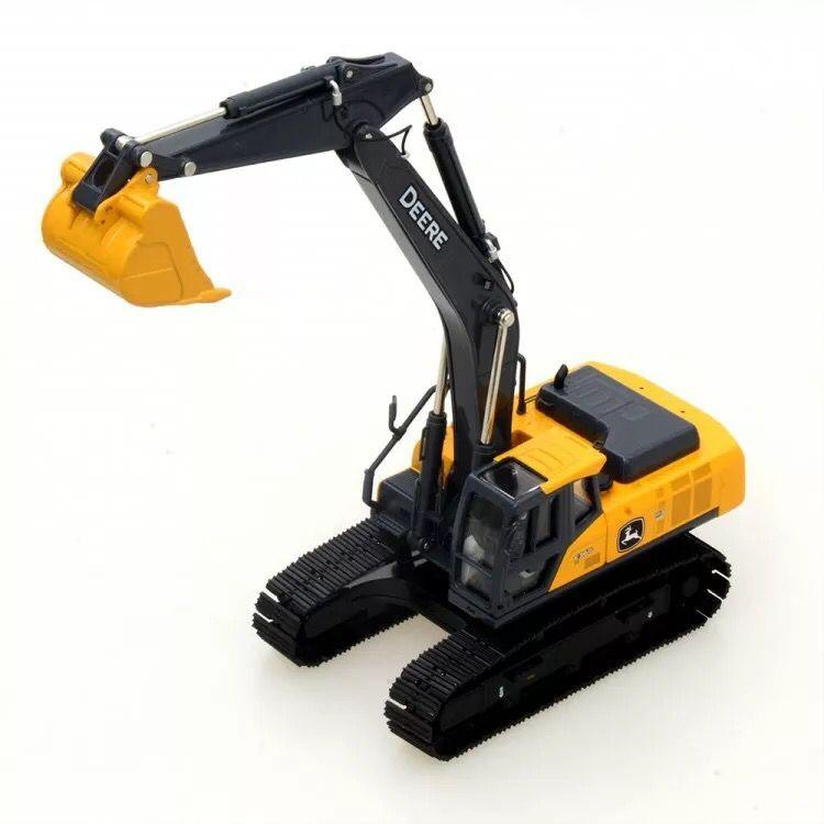 Rare!!! John Deer E360 Excavator 1:50 Scale Die-Cast Model New in Original Box new weise toys 1 32 scale die cast metal model 1033 mb trac 900 turbo