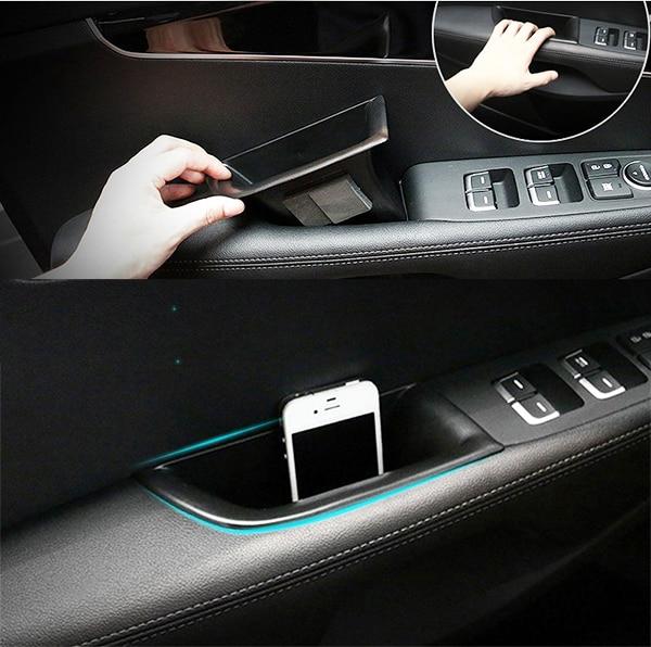 Fit For 2016 2017 Kia Sorento Front Door Handle Storage Box Center Console  Glove Bin Interior