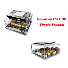 Carte mère ITX support universel Simple multicouche empilable châssis Transparent