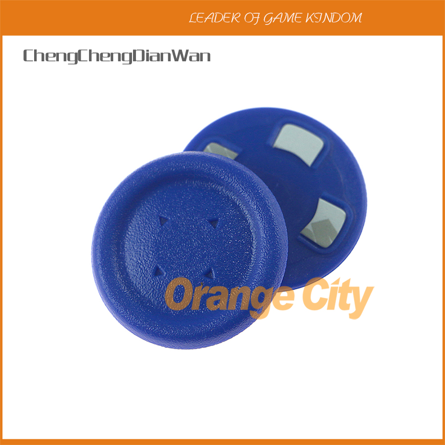 ChengChengDianWan 1pair Large Size Button Round D-Pad Cross Button Direction Key Caps Covers For PS4 Ps3 Ps4 Slim Controller