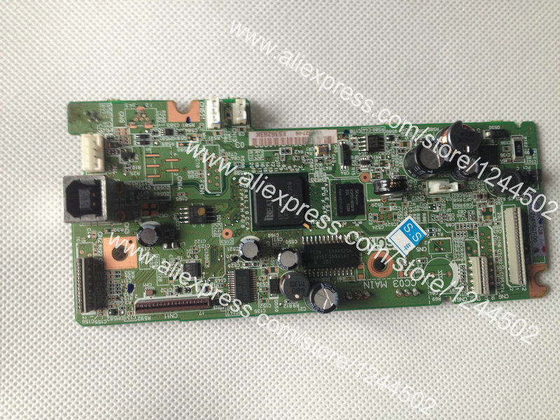 Refrubished Printer Logic Mother Board For Epson L365 Formatter board Main Board 1pcs used main board formatter board for epson l365 l366 l375 printer main logic mother board