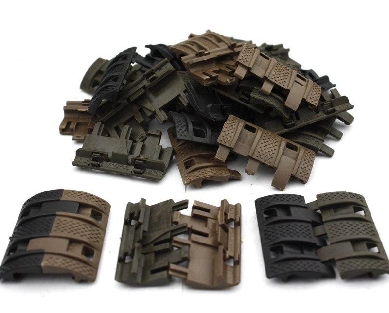 Тактические страйкбольные панели Picatinny rail  Защитные чехлы для охоты  1 упаковка  32 unids title=