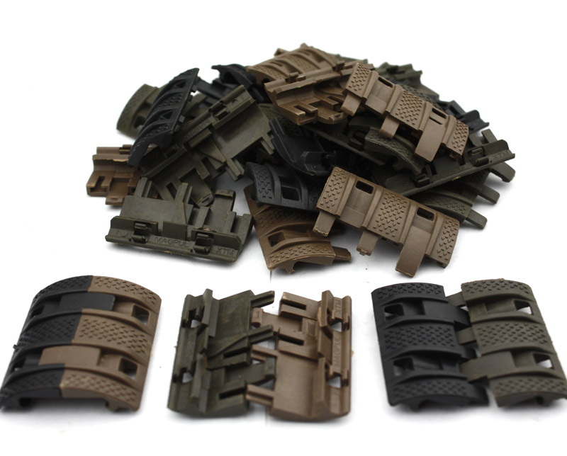 32 unids 1 Pack tactique Airsoft panneaux Picatinny rail Handguard couverture chasse