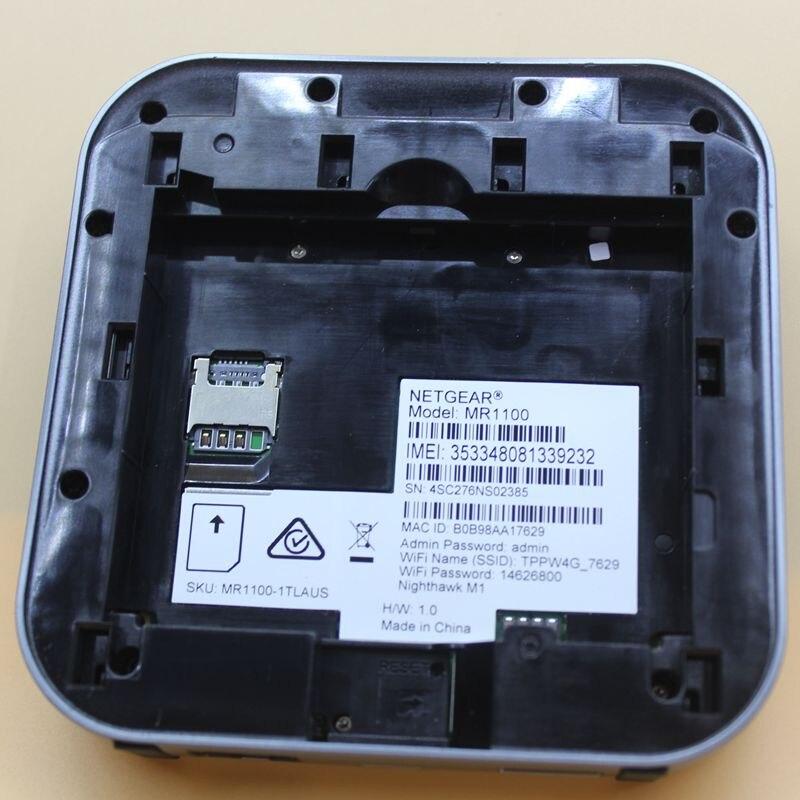 Unlocked Used Netgear Nighthawk M1 4GX Gigabit LTE Mobile Router 1Gbps CAT  16 LTE Advanced Wireless Router PK HUAWEI E5186