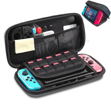 Nintend Swap Case Onerous Protecting Sturdy Carrying Bag With 10 Sport Card Holder for Nintendo Swap