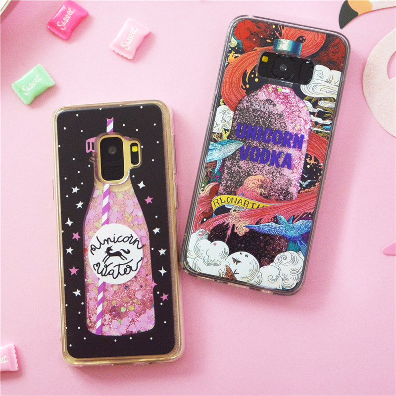 for iPhone 7//8 Glitter Case,QFFUN Bling Crystal Diamonds Soft Silicone Hard Plastic Back Hybrid Double Layer 2 in 1 Anti-Scratch Protective Cover with Screen Protector Peacock Flower