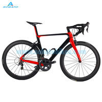 700C Sobato Full Carbon Fiber Bicycle Bike With 6800 Groupset 50mm Carbon Road Wheelset Disc Brake