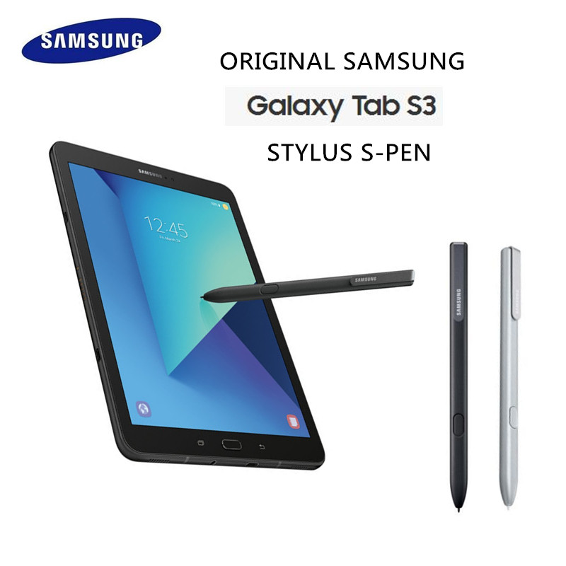 Véritable Officiel Samsung Galaxy Tab S3 9.7 SM-T820 T825C Replaceme Stylet Tactile Stylo Noir Argent Intelligent S stylo Ultra- mince