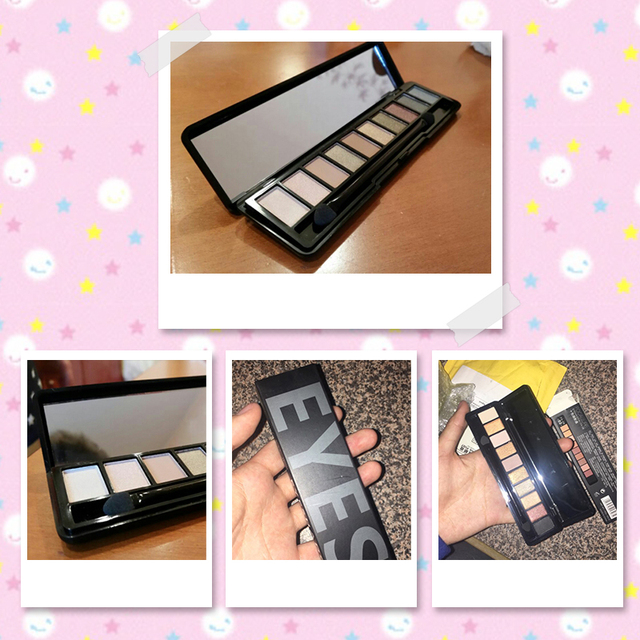 Ten Colors Eye Shadow Makeup with Brush