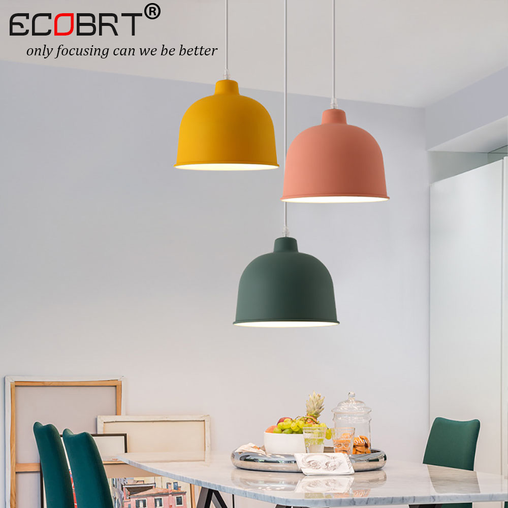 Modern simple and colorful Pendant Lights in coffee bedroom Nordic Hanging light fixture for home Decor Loft Pendant Lamp nordic modern wood glass pendant lights simple art coffee restaurant hanging lamp living bedroom pendant lamp for home lighting