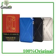 Оригинал Тесла Invader 3 III 240 Вт поле mod Invader 3 испаритель mod для 510 темы электронных сигарет VAPE VS voopoo перетащите 157 Вт