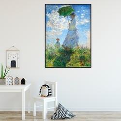 Импрессионизм, искусство монет женщина холст картина старинный крафт Плакаты классические настенные клеящиеся Настенные обои детская