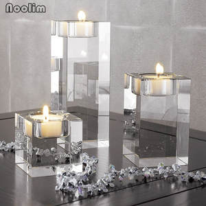 NOOLIM Candle-Holders Centerpieces Tealight Wedding-Decorations Religious Bonus
