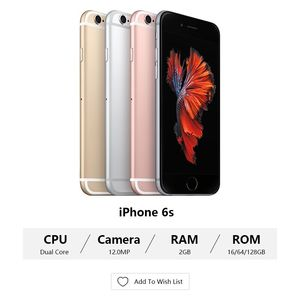 """Image 2 - Sbloccato Apple iPhone 6S / 6s Plus Dual Core 2GB di RAM 16/64/128GB ROM 4.7 """"e 5.5"""" 12.0MP Camera 4K Video iOS 9 LTE Utilizzato telefoni Cellulari"""