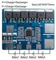 Frete grátis 4S 15A lifepo4 BMS placa de proteção da bateria PCM para lifepo4 bateria SH04015003-FX4S15A