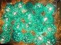 5 m 20 Bolas de Luz Rattan Azul LED Luzes Da Corda Luzes De Natal Sepak Takraw Bolas Guirlandas Propor Casamento Decorações Do Partido