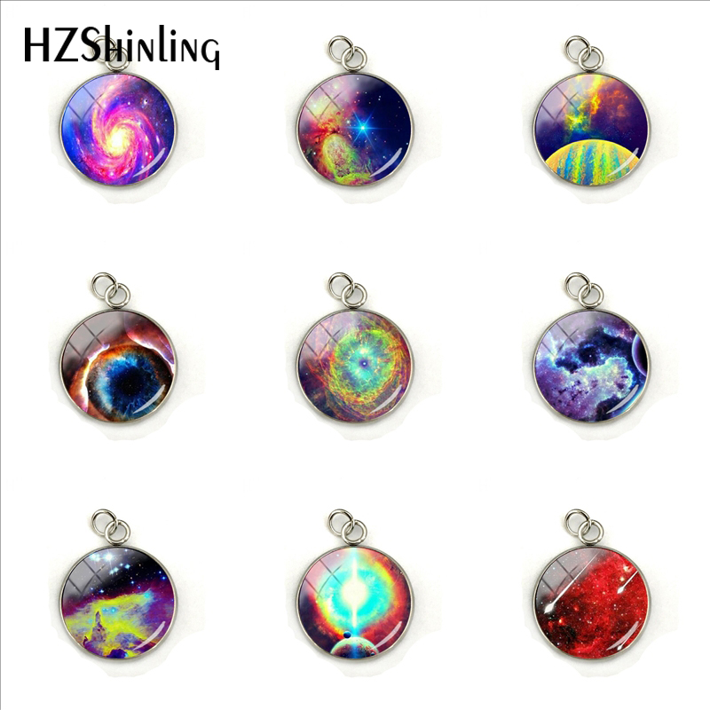 Chain Necklaces Tafree 2017 New Fashion Glass Gem Galaxy Nebula Space Statement Necklace Vintage Brand Jewelry For Men Women Charms Gifts Es46