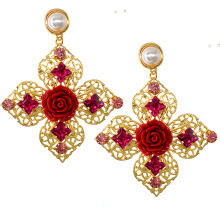 New Statement Irregular Women Earrings Fashion Drop Classic Alloy Costume Jewelry