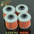 4 * limpiador del filtro de aceite para honda trx450er trx450r crf150r crf250r crf250x crf450r crf450x motocross bici de la motocicleta off road