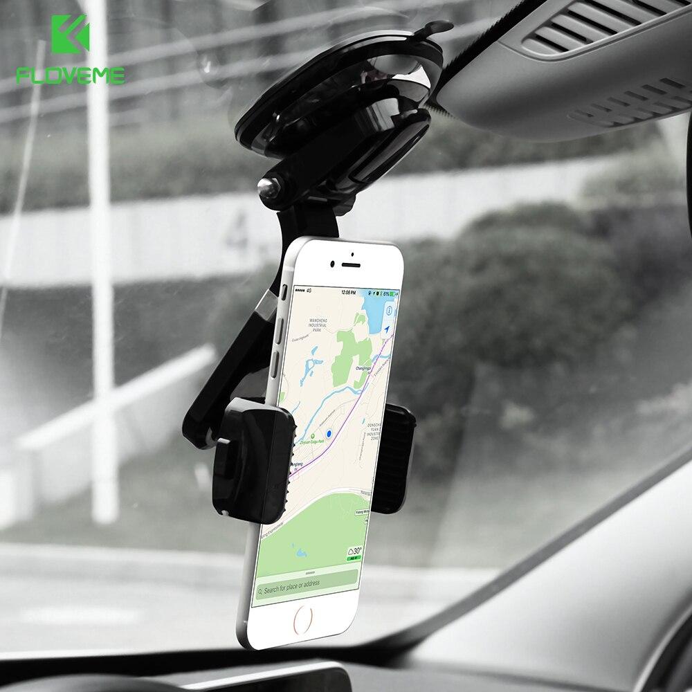 floveme car phone holder support telephone voiture stand 360 adjustable phone holder for iphone. Black Bedroom Furniture Sets. Home Design Ideas