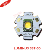 1pcsLUMINUS 15W SST 50 Warm White 3000K LED Chip Emitter 1300 1500LM 3 2 3 8V